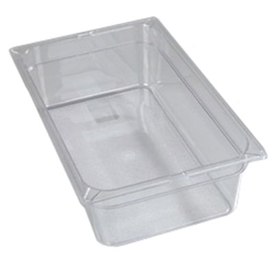 "Carlisle 1020207 Full Size Food Pan - 6""D, Clear"