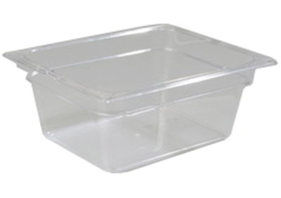 "Carlisle 1020307 TopNotch Full Size Food Pan - 8""D, Clear"