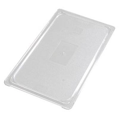 Carlisle 10216U07 Universal Full Size Food Pan Lid - Flat, Clear