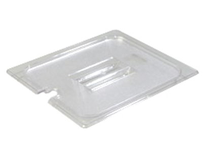 Carlisle 1023107 Half Size Food Pan Lid - Notched, Clear