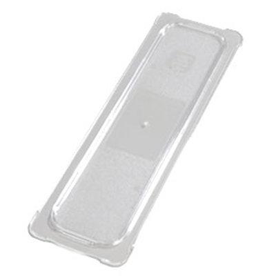 Carlisle 10256U07 Universal Half Size-Long Food Pan Lid - Flat, Clear