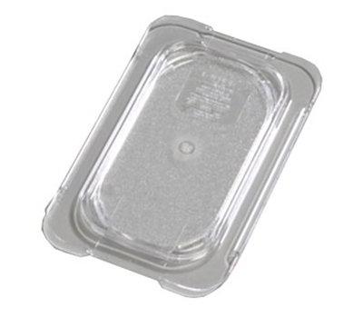 Carlisle 10336U07 Universal 1/9 Size Food Pan Lid - Flat, Clear