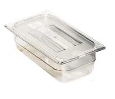 "Carlisle 1032003 1/9 Size Food Pan - 2-1/2""D, Black"