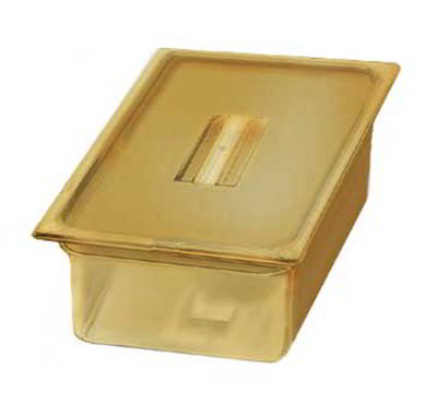 "Carlisle 1040213 High Heat Full Size Food Pan - 6""D, Amber"