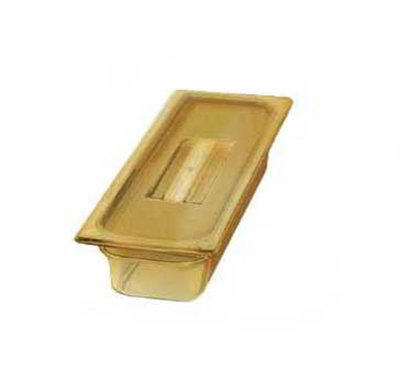 "Carlisle 1046013 High Heat 1/3 Size Food Pan - 2-1/2""D, Amber"
