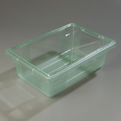 "Carlisle 10611C09 3-1/2-gal Food Storage Box - 18x12x6"" Green"