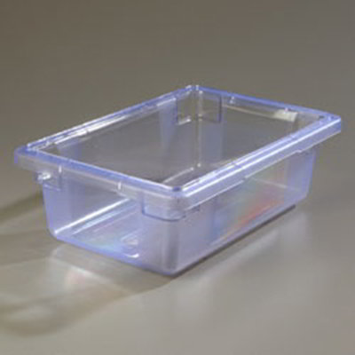 "Carlisle 10611C14 3-1/2-gal Food Storage Box - 18x12x6"" Blue"