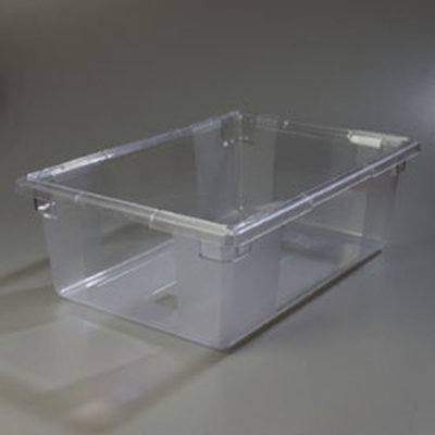 "Carlisle 1062207 12-1/2-gal Food Storage Box - 26x18x9"" Clear"