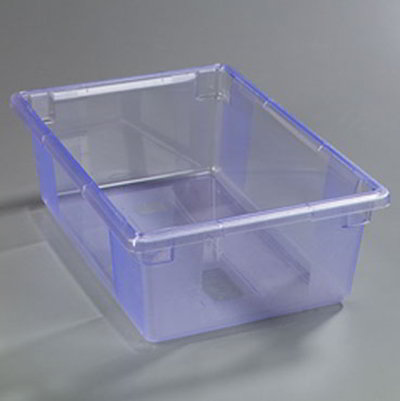 "Carlisle 10622C14 12-1/2-gal Food Storage Box - 26x18x9"" Blue"