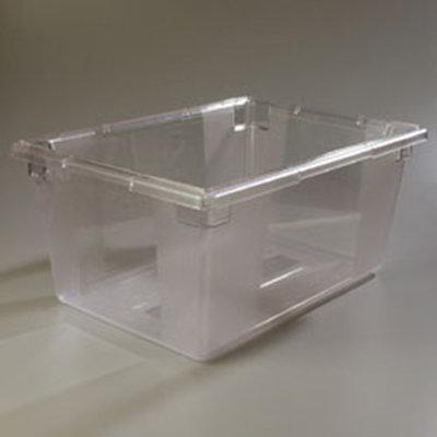 "Carlisle 1062307 16.6-gal Food Storage Box - 26x18x12"" Clear"