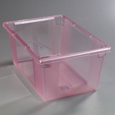 "Carlisle 10623C05 16.6-gal Food Storage Box - 26x18x12"" Red"