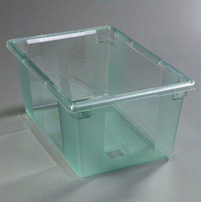 "Carlisle 10623C09 16.6-gal Food Storage Box - 26x18x12"" Green"