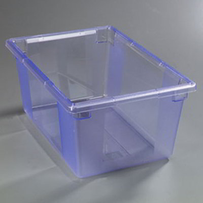 "Carlisle 10623C14 16.6-gal Food Storage Box - 26x18x12"" Blue"