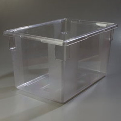 "Carlisle 1062407 21-1/2-gal Food Storage Box - 26x18x15"" Clear"