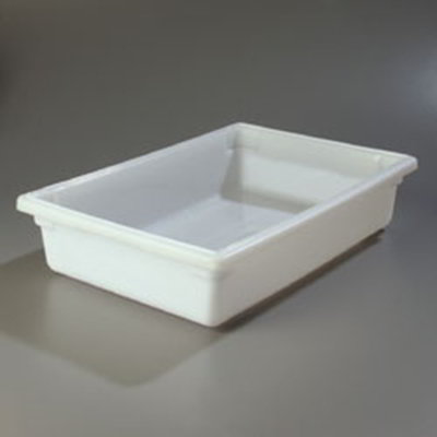 "Carlisle 1064102 8-1/2-gal Food Storage Box - 26x18x6"" White"