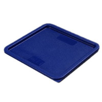 Carlisle 1074260 12/18/22-qt Square Food Storage Lid - Blue