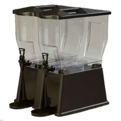 Carlisle 1085103 6-gal Premium Beverage Server - Clear/Black