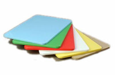 "Carlisle 1088000 Poly Cutting Board Pack - 12x18x1/2"" Multi-Color"