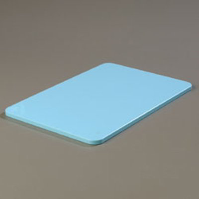 "Carlisle 1088214 Poly Cutting Board - 12x18x1/2"" Blue"