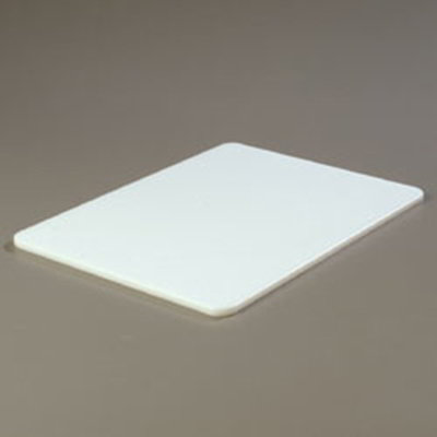 "Carlisle 1088402 Poly Cutting Board - 15x20x1/2"" White"