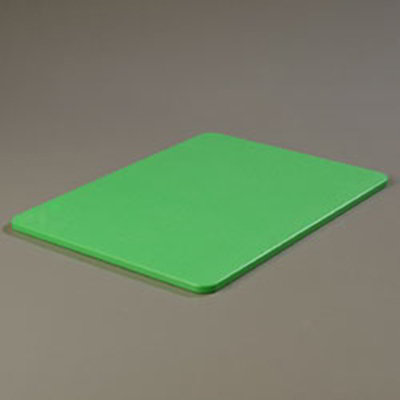 "Carlisle 1088509 Poly Cutting Board - 15x20x1/2"" Green"
