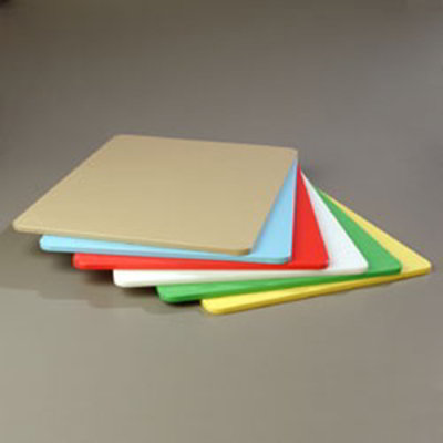 "Carlisle 1088600 Poly Cutting Board Pack - 18x24x1/2"" Multi-Color"
