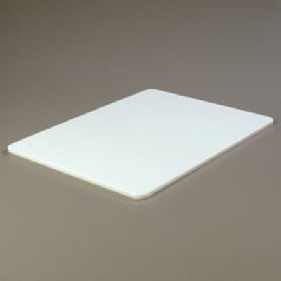 "Carlisle 1088702 Poly Cutting Board - 18x24x1/2"" White"