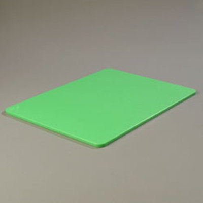 "Carlisle 1088809 Poly Cutting Board - 18x24x1/2"" Green"