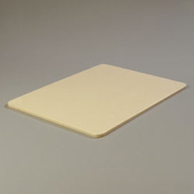 """Carlisle 1088825 Poly Cutting Board - 18x24x1/2"""" Tan"""