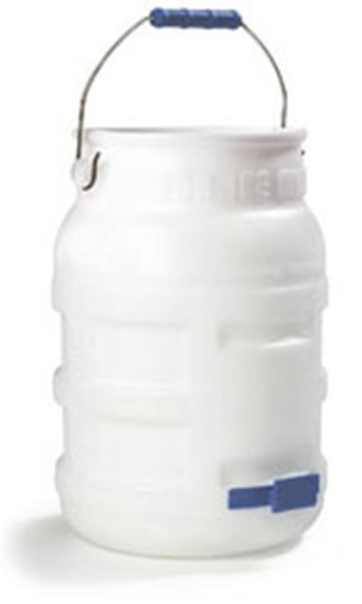 Carlisle 1287502 5-gal Ice Transport Tote - White