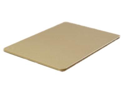 """Carlisle 1288225 Poly Cutting Board - 12x18x3/4"""" Tan"""