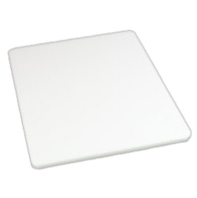 "Carlisle 1288602 Poly Cutting Board - 15x20x3/4"" White"
