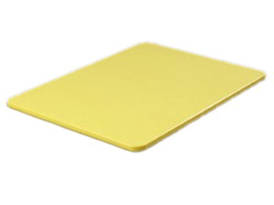 "Carlisle 1288704 Poly Cutting Board - 15x20x3/4"" Yellow"