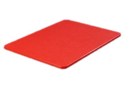 """Carlisle 1288705 Poly Cutting Board - 15x20x3/4"""" Red"""