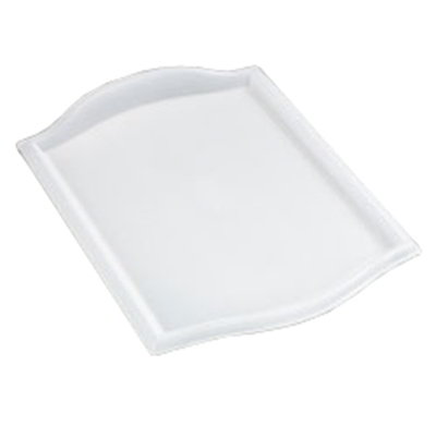 "Carlisle 1319BT30 Rectangular Bistro Tray - 19x13"" Translucent"
