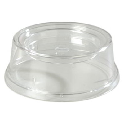 "Carlisle 196007 9"" Plate/Bowl Cover - Poly, Clear"