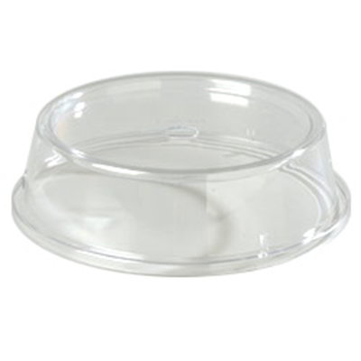 "Carlisle 199207 10-1/2 to 10-5/8"" Plate/Bowl Cover - Poly, Clear"
