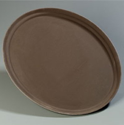 Carlisle 2700GR076 Oval Serving Tray - 2