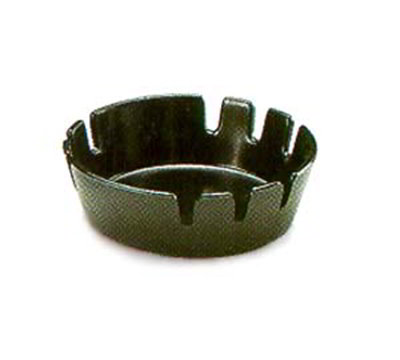 "Carlisle 305-803 4"" Round Ashtray - Black"