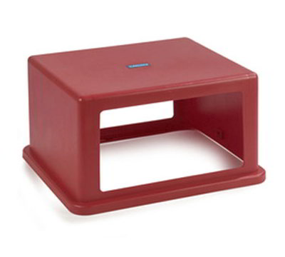 Carlisle 344057-05 56-gal Square Waste Container Hood Lid - Polyethylene, Re
