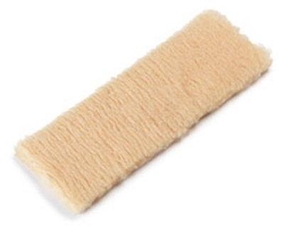 "Carlisle 36160300 16"" Wax Applicator Refill - Synthetic Woven P"