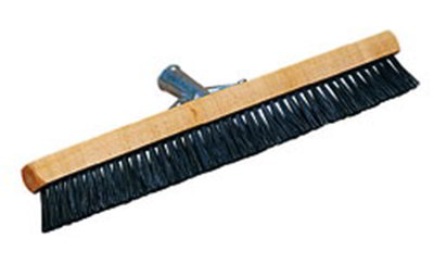 "Carlisle 3629703 18"" Pile Brush - Nylon/Wood, Bla"
