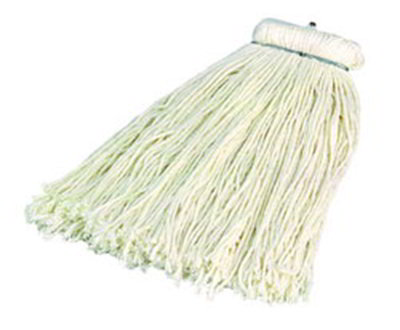 Carlisle 369024R00 Screw Top Mop Head - #24, 4-Ply, Cut End, Rayon Yarn
