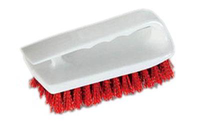 "Carlisle 4002405 6"" Bake Pan Lip Brush - Poly/Plastic"