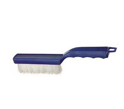 "Carlisle 4002700 11-1/2"" Scratch Brush - Nylon/Plastic"