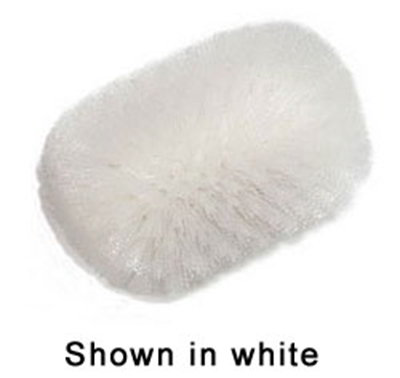 "Carlisle 4004102 7-1/2"" Tank/Kettle Brush Head - Nylon/Plastic, White"