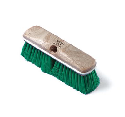 "Carlisle 4005014 9-1/2"" Wall Brush - Nylex/Plastic, Blue"