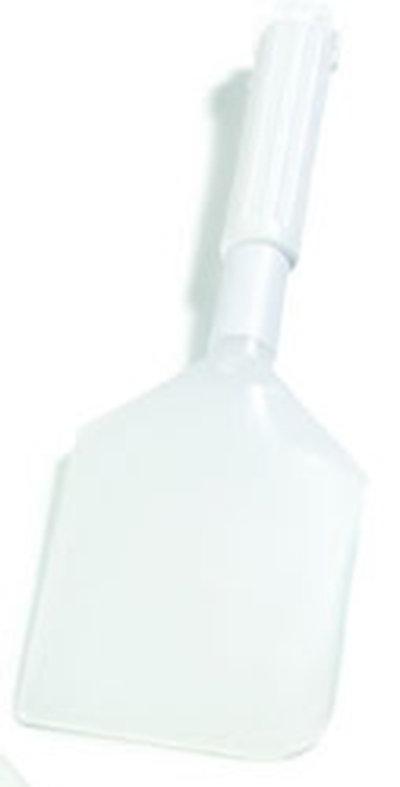 """Carlisle 4035100 13-1/2"""" Spatula - Plastic/Polyethylene, White"""