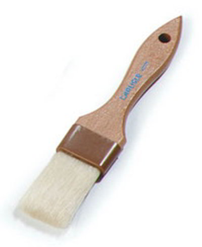 "Carlisle 4037300 Basting Brush - 1-1/2"" Bristles, Brown"