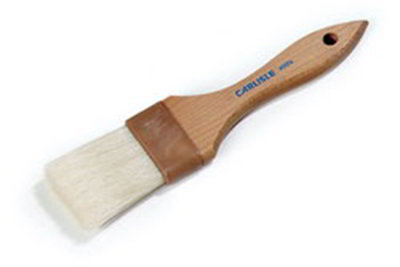 "Carlisle 4037400 Basting Brush - 2"" Bristles, Brown"